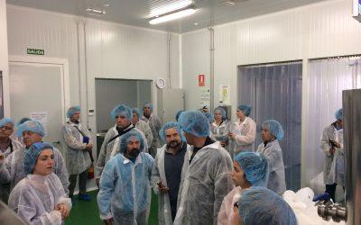 Los viveros de Adecuara despiertan el interés de grupos Leader europeos y productores españoles