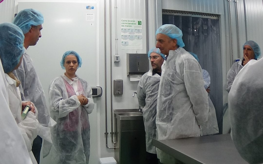 Visita de la Asociación de Desarrollo Rural Izki (Montaña Alavesa) a los viveros de Jaca y Biescas