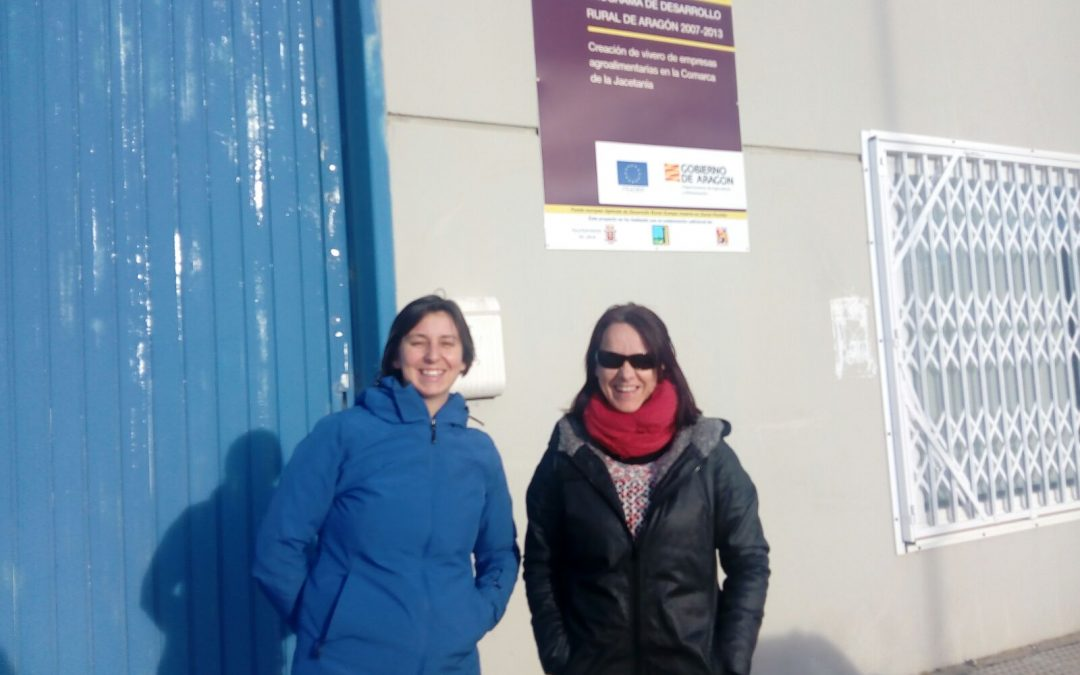 Visita de la Federación Valenciana de Cooperativas al vivero de Jaca