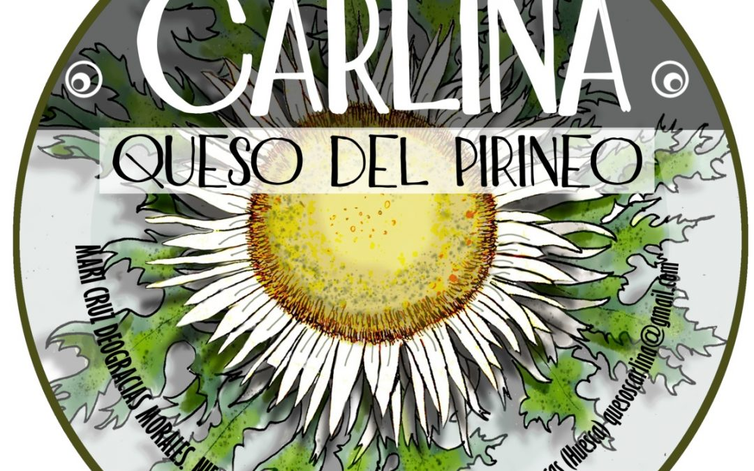 Quesos Carlina, Miel Oz de Jaca y Chocolates de la abuela, en el mercado Hecho en los Pirineos de Biescas
