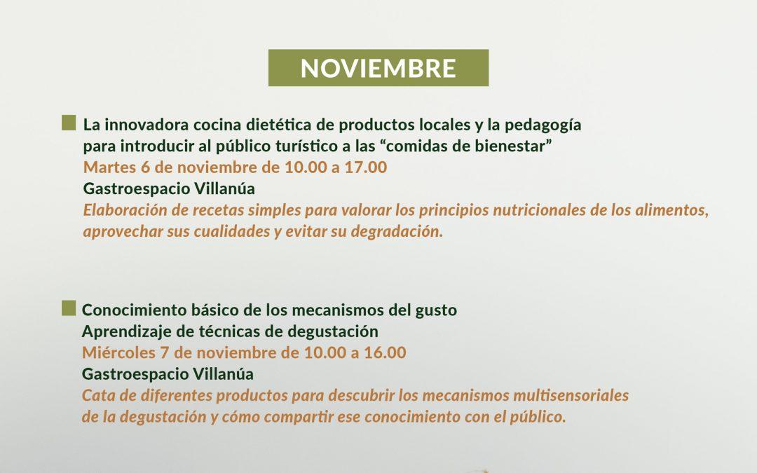 """TABLÓN DE ANUNCIOS. Acciones formativas """"Hecho en los Pirineos"""" en el Gastroespacio de Villanúa"""