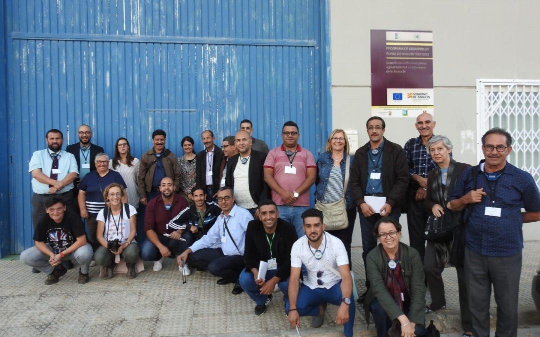 Funcionarios argelinos conocen el modelo de los viveros agroalimentarios de Adecuara