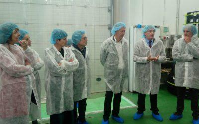 El Consejero de Desarrollo Rural, Joaquín Olona, visita los viveros agroalimentarios de ADECUARA