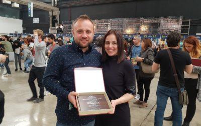"""Cerveza Tensina """"Peña Roya"""", medalla de plata en la categoría American Amber Ale del Barcelona Beer Challenge por segundo año consecutivo"""