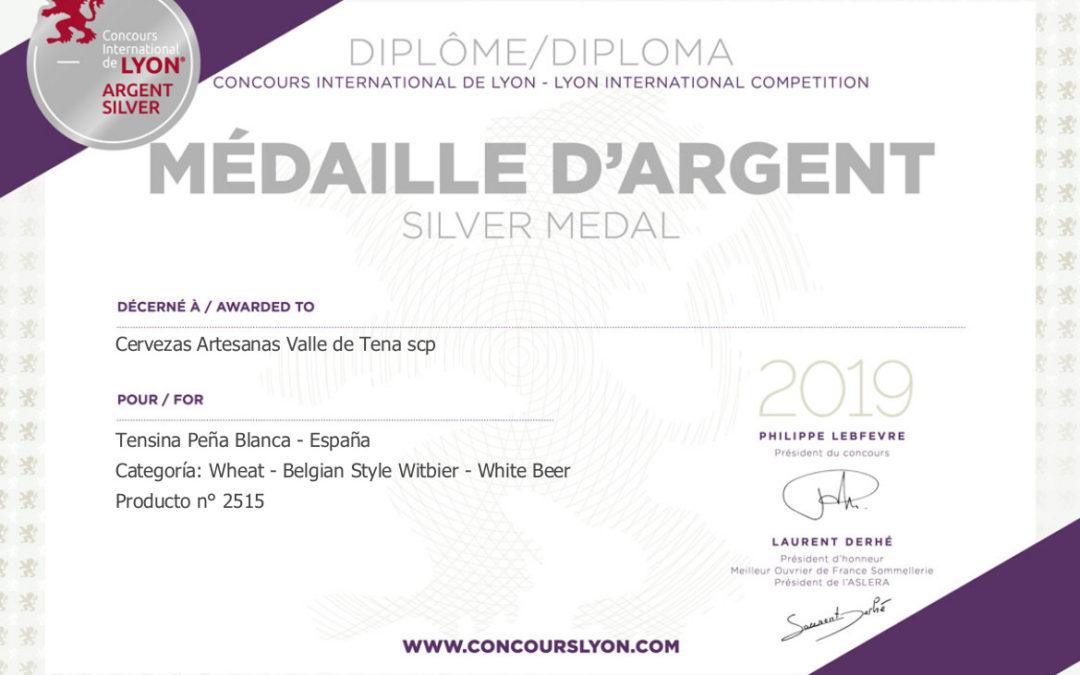 """La Cerveza Tensina """"Peña Blanca"""", medalla de plata del Concurso Internacional de Lyon"""