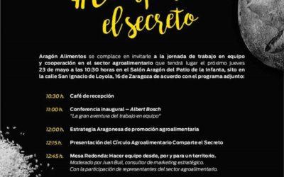 TABLÓN DE ANUNCIOS. Jornada de trabajo en equipo de Aragón Alimentos